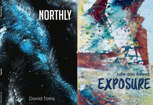 "Launch of ""Northly"" by David Toms and ""Exposure"" by Julie-ann Rowell, September 2019"