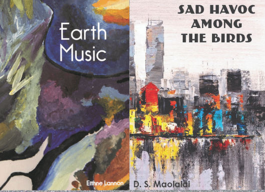 """Launch of """"Earth Music"""" by Eithne Lannon and """"Sad Havoc Among the Birds"""" by D.S. Maolalai, April, 2019"""