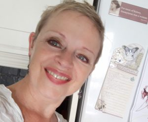 Liz McSkeane, novelist, poet, publisher, founder of Turas Press