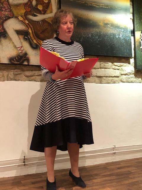 """Julie-ann Rowell, poet, authorof """"Exposure"""""""