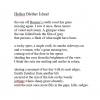Hether Blether Island poem by Julie-ann Rowell