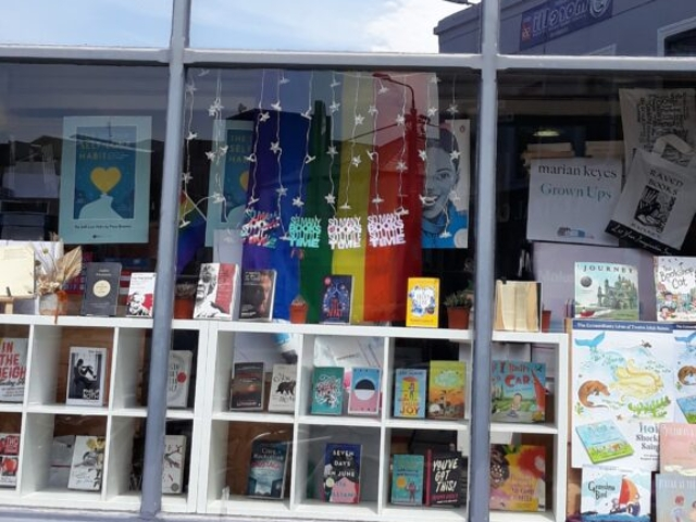 Store front of Raven Books in Blackrock, Co Dublin