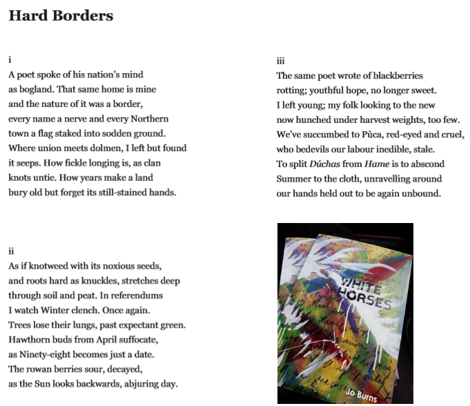 """Hard Borders"", powm by Jo Burns"