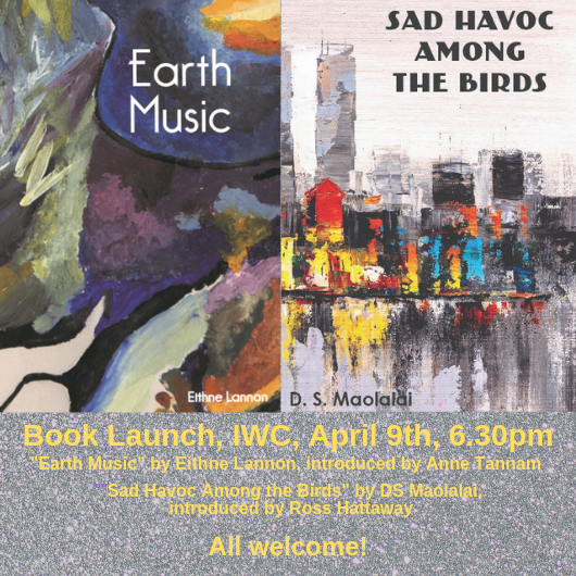"Launch of ""Earth Music"" and ""Sad Havoc Among the Birds"" IWC September 2019"