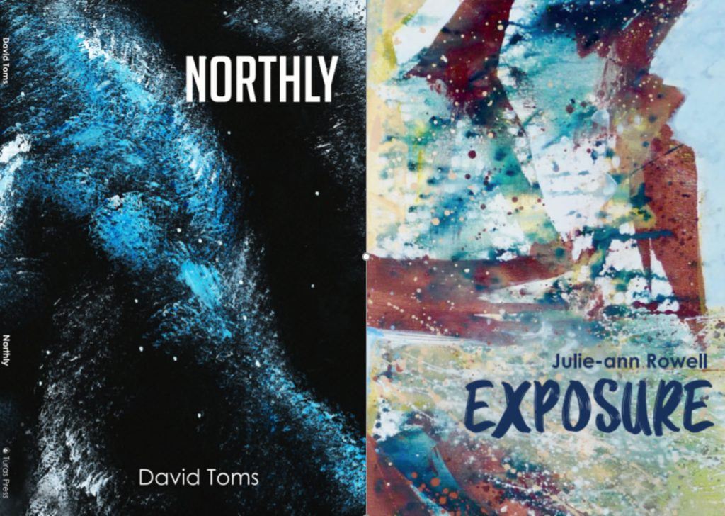 Northly and Exposure poetry collections cover