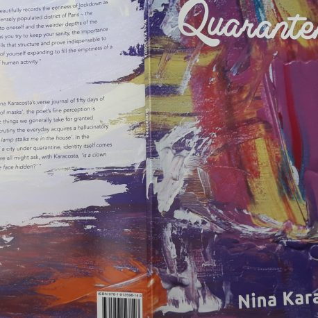 Cover of Quarantena front and back