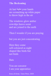 The Beckoning poem by Fiona Perry